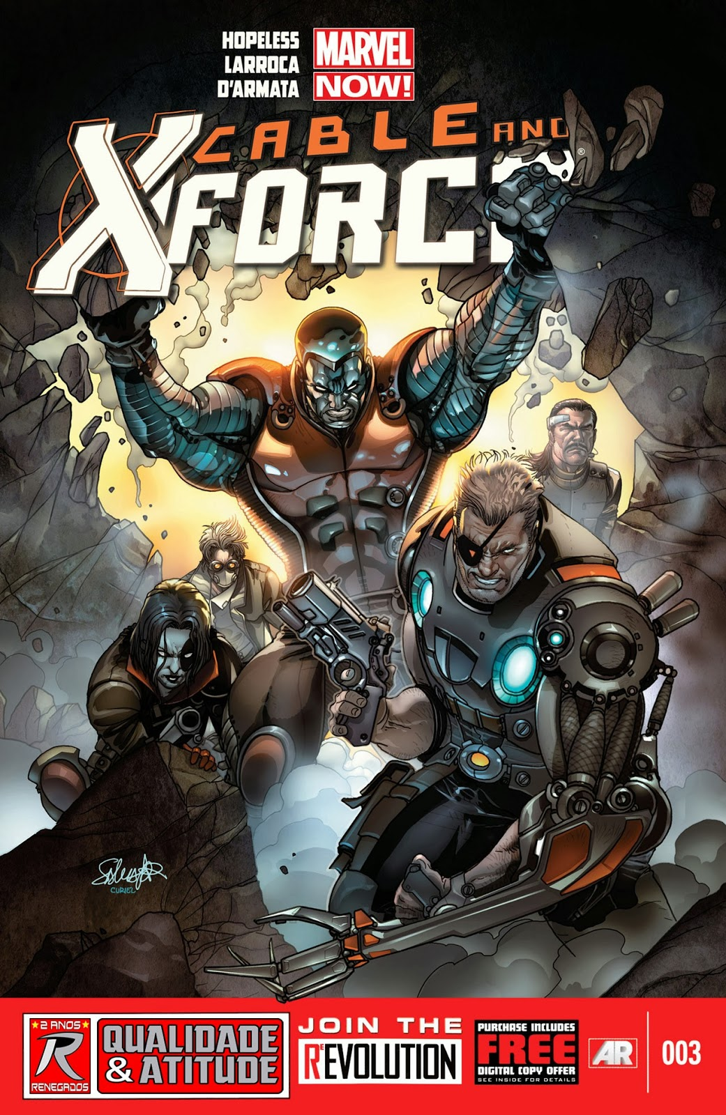 Nova Marvel! Cable e a X-Force #3