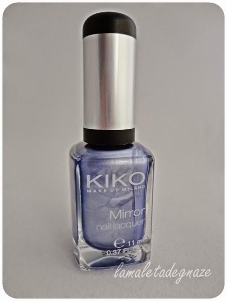 Esmaltes mirror kiko 622 lavanda la maleta de gnaze - Pintaunas kiko efecto espejo ...