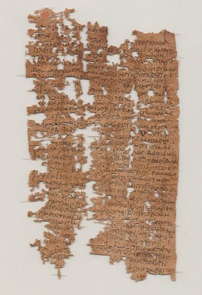 Surat Pribadi, Legiun Romawi, Papirus Romawi