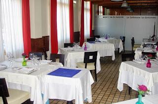 Gijón, restaurante La Carbayera,interior