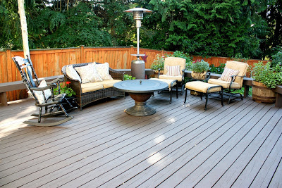 Home is Where My Story Begins: The Deck Makeover with Behr DeckOver