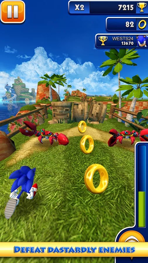 Sonic Dash v1.16.1.Go Mod [Unlimited Money]
