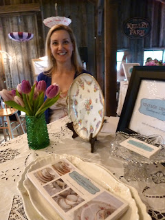 Lisa Mayer of Vintage Dish Company - Posted by Patricia Stimac, Seattle Wedding Officiant