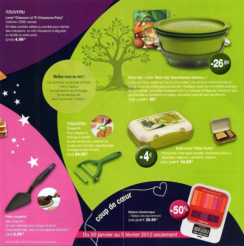 Conseill re culinaire tupperware dans le 87 haute vienne janvier 2012 - Pieces detachees tupperware ...