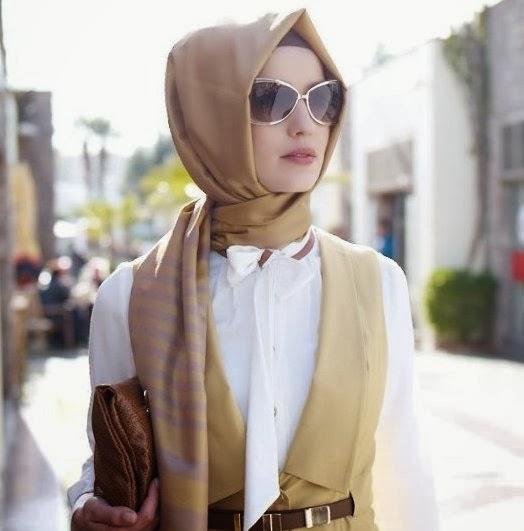 model hijab untuk pekerja kantor
