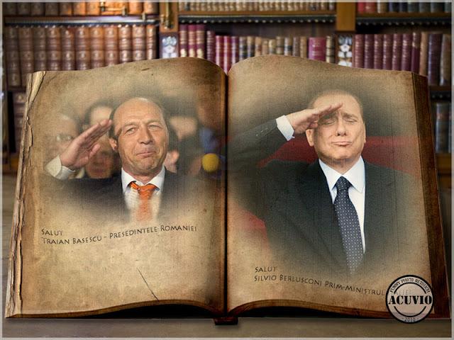 Funny photo Traian Basescu Codul maniere