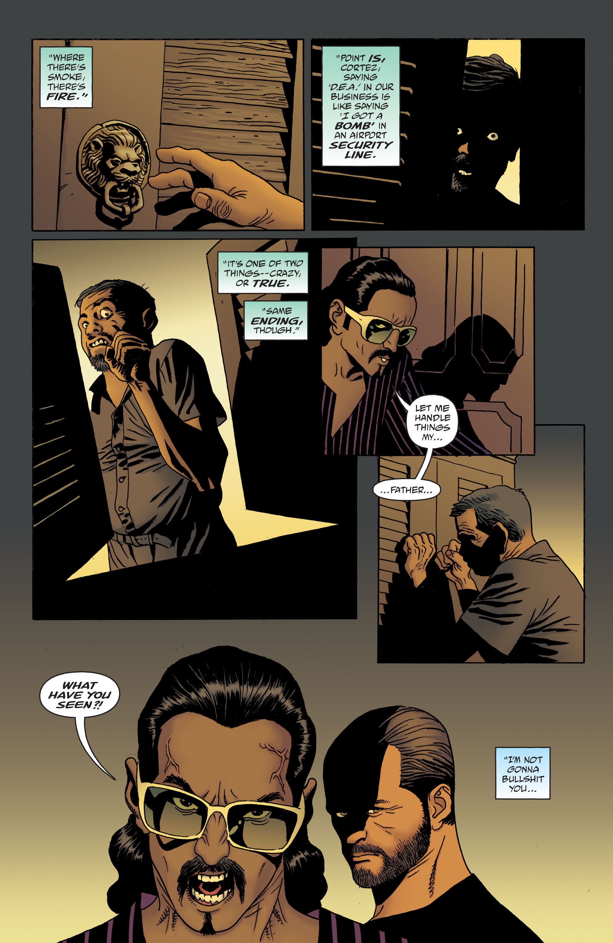 100 Bullets: Brother Lono Full Page 151