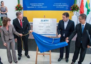 Fábrica chinesa especializada em fibra óptica é inaugurada em Alagoas