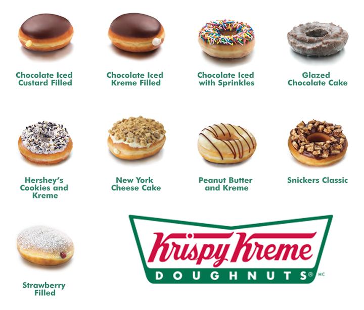 Krispy Kreme Seasonal Flavors