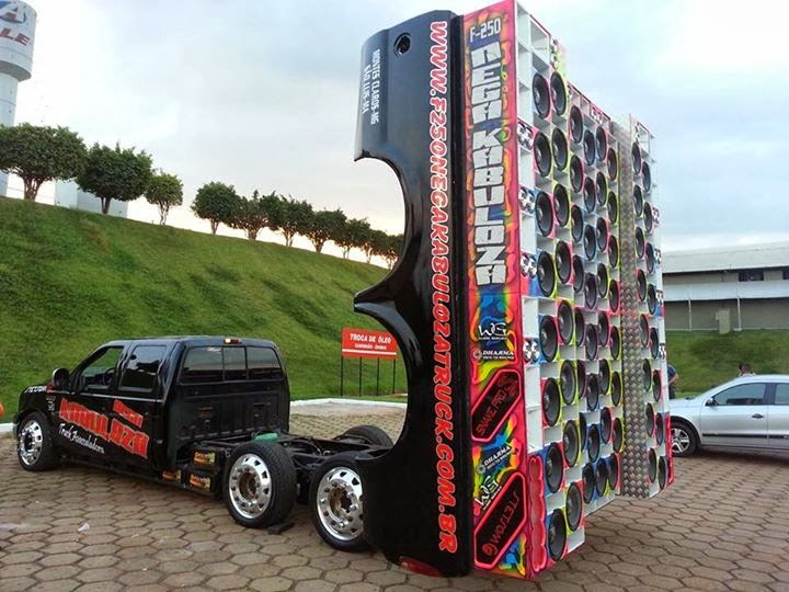 Tops Dj's e Som Automotivo Do Brasil: F250 Nega Kabuloza Truck #2014