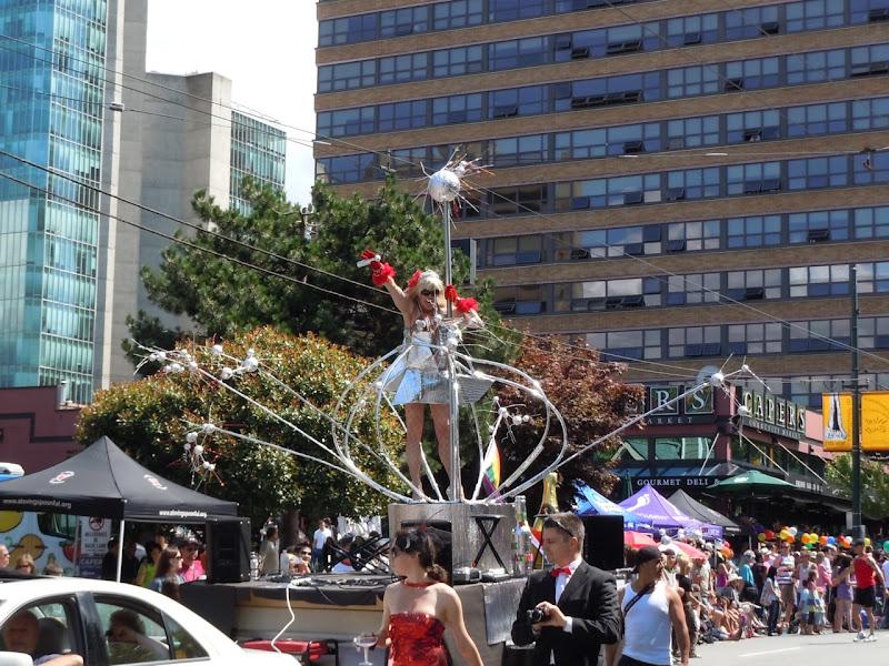 Drag Gaga Vancouver Pride Parade