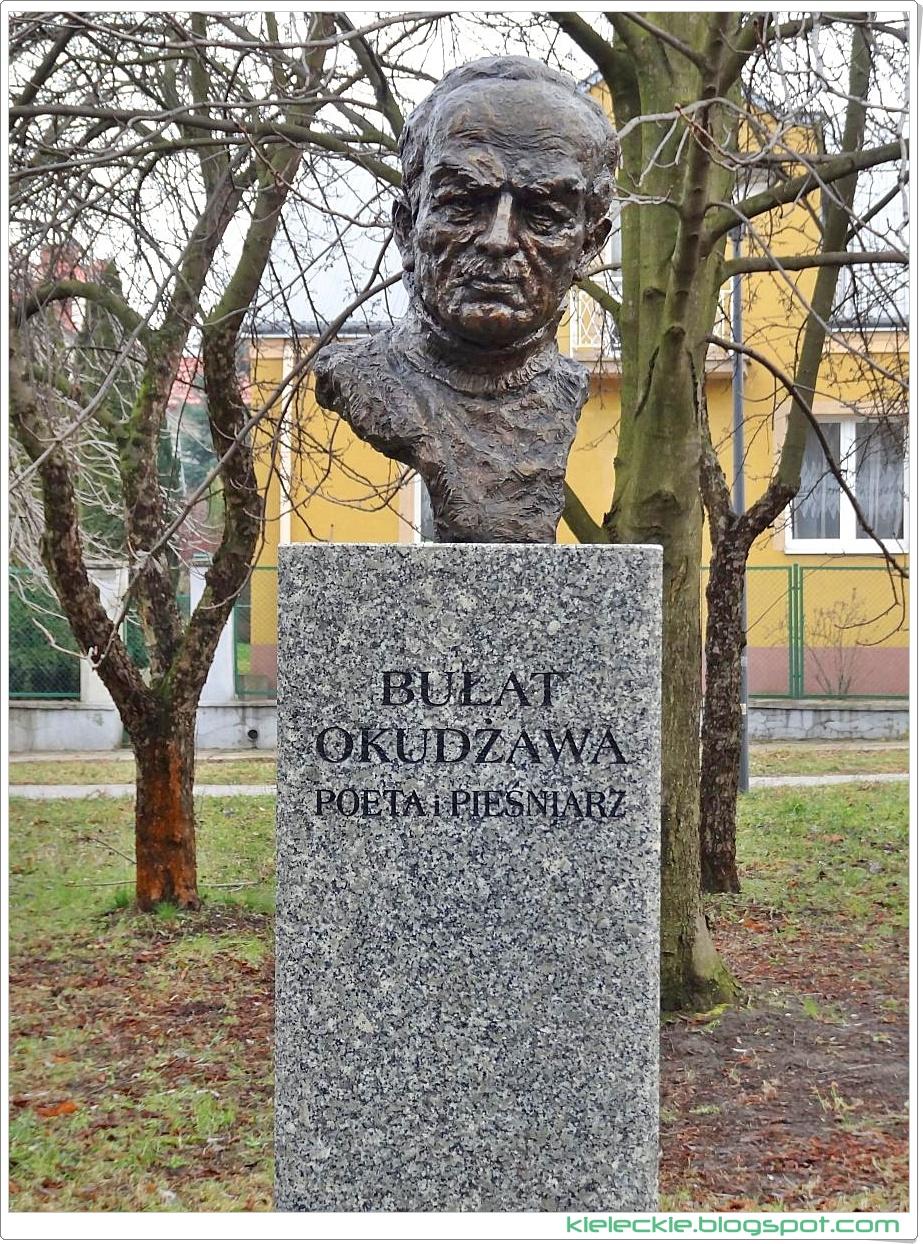 Bard i poeta Bułat Okudżawa w Alei Sław