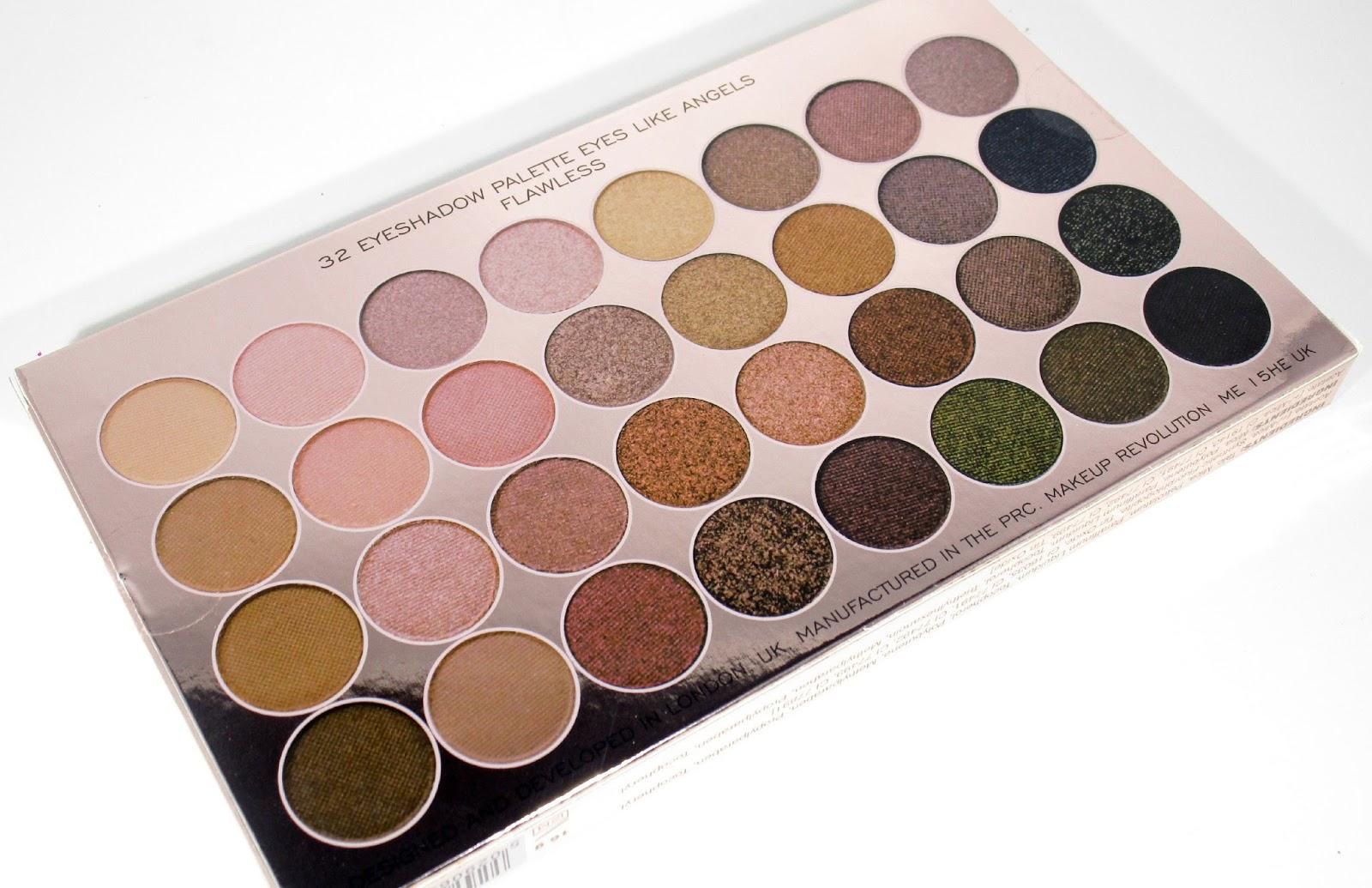haysparkle makeup revolution 39 new 39 32 ultra eyeshadow. Black Bedroom Furniture Sets. Home Design Ideas