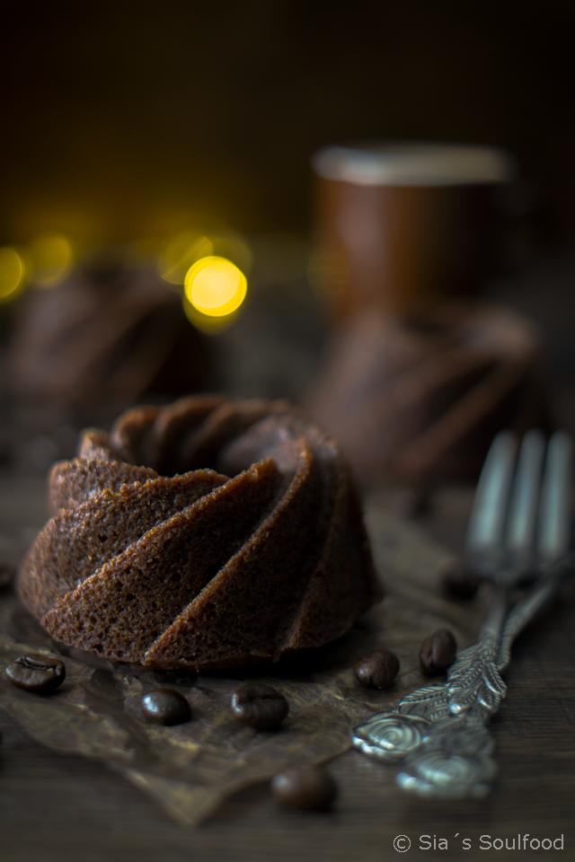 Kaffee-Schokoladen-Gugel