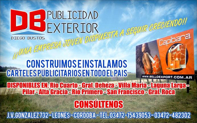 ESPACIO PUBLICITARIO: DIEGO BUSTOS - PUBLICIDAD EXTERIOR