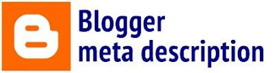 Meta Deskripsi Blogger
