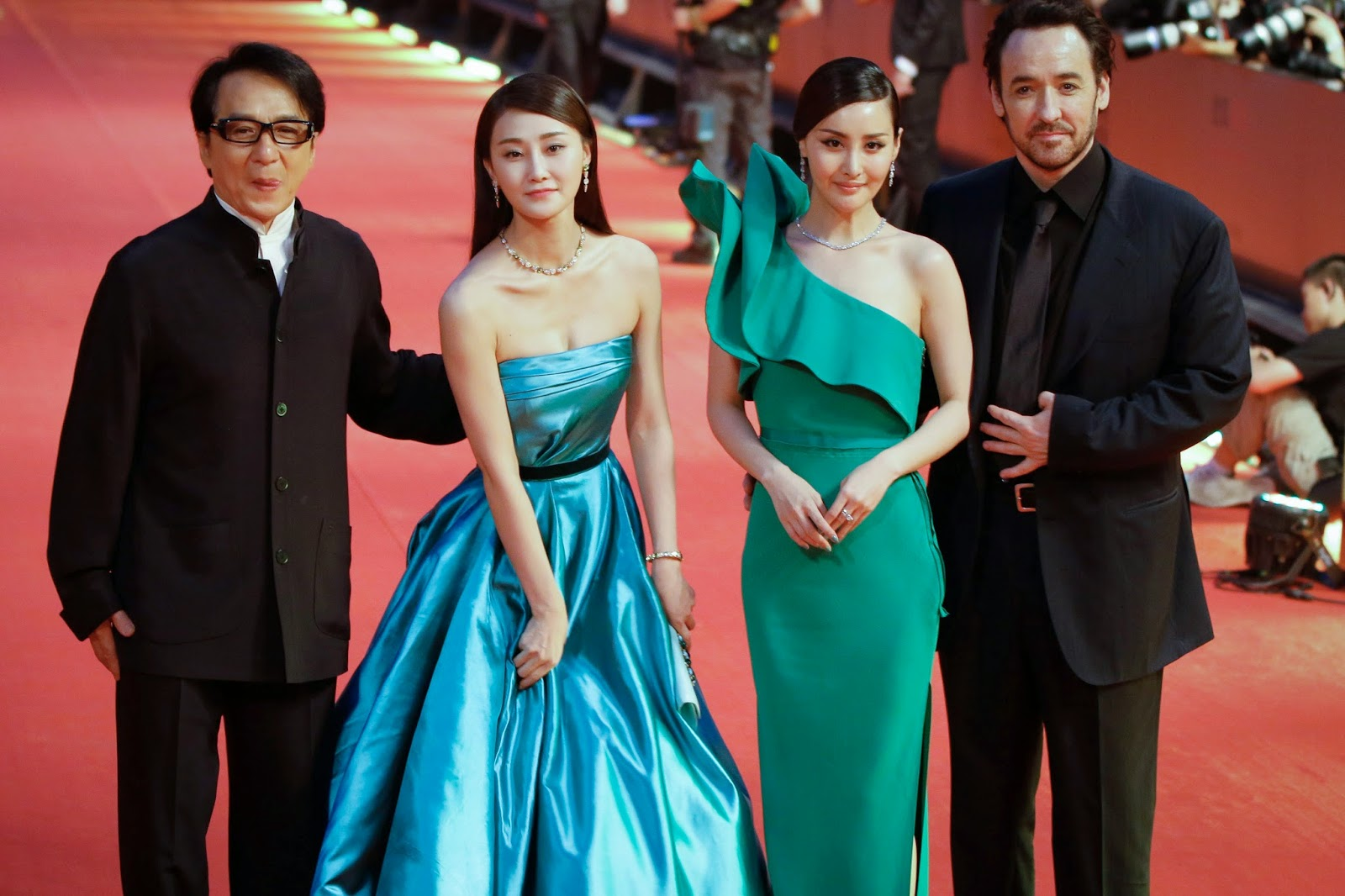 Asian Film Festival, China, Entertainment, Film Festival, Gong Li, Hong Kong, Jackie Chan, John Cusack, Maria Grazia Cucinotta, Nicole Kidman, Shanghai, Shanghai International Film Festival, Showbiz,
