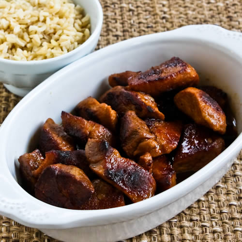 Pork Adobo (from the Philippines) found on KalynsKitchen.com