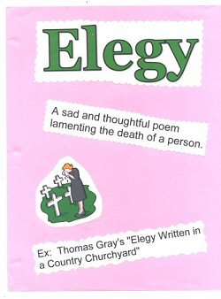 elegy definition  example