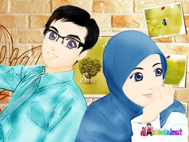 Gambar 1 Pasangan Islami