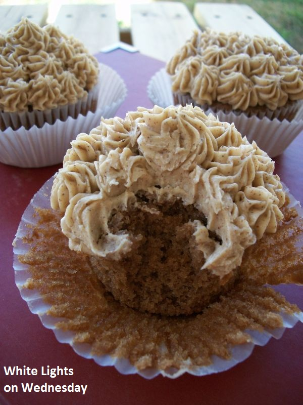 All The Joy: Chai Latte Cupcakes- From Julie at White ...