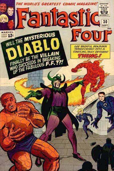 Fantastic Four #30, Diablo