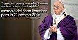 Mensaje de Francisco para la Pascua 2016