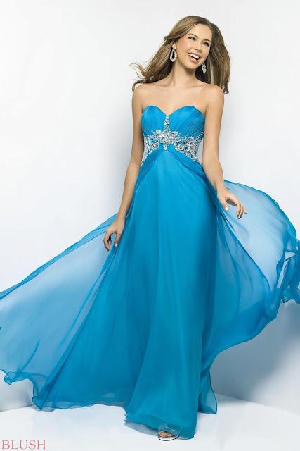 Blush Prom Dress 2013