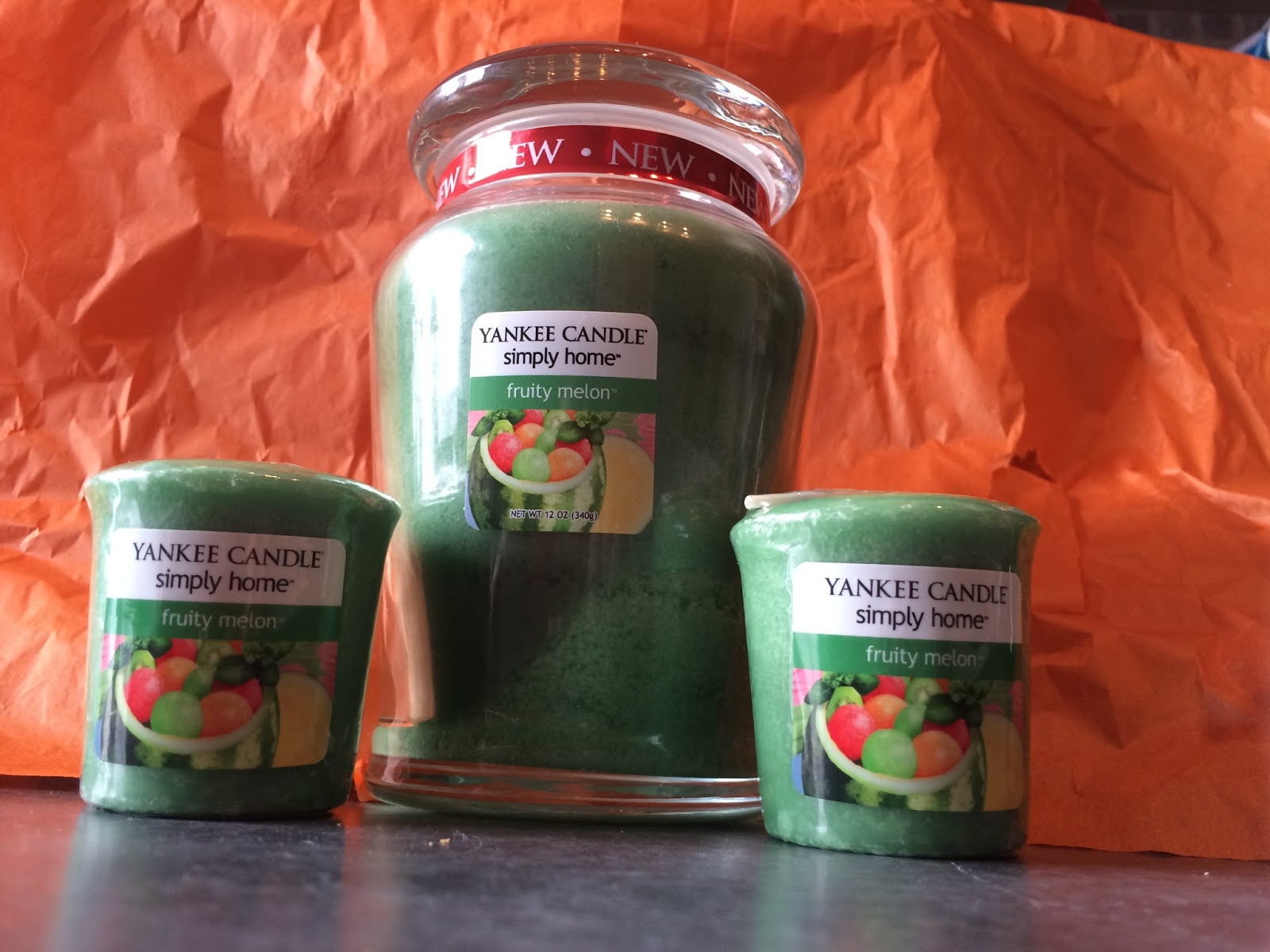 Fruity Melon Yankee Candles