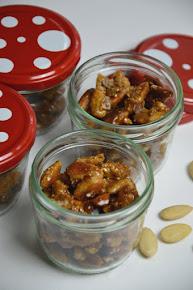 Ein Rezept für gebrannte Mandeln wie vom Weihnachtsmarkt
