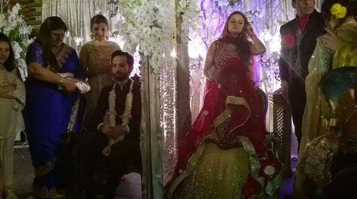 Anoushay Abbasi & Ainan Arif Abbasi Wedding Pictures