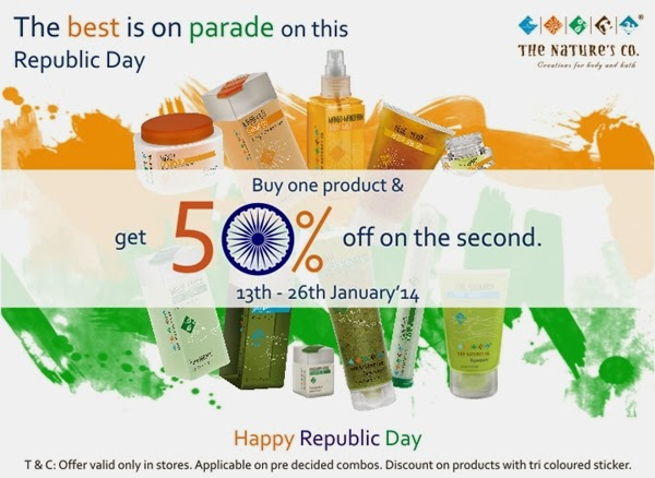 The Nature's Co. Republic Day Special Offer & February Valentine Special Beauty Wish Box
