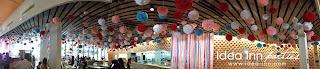 paper pom-pom for birthday party