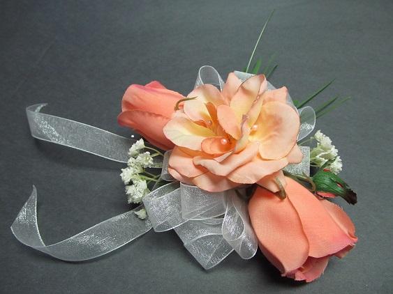 bridal corsage