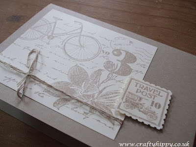 Postage Due, Postage Stamp punch, Stampin' Up!