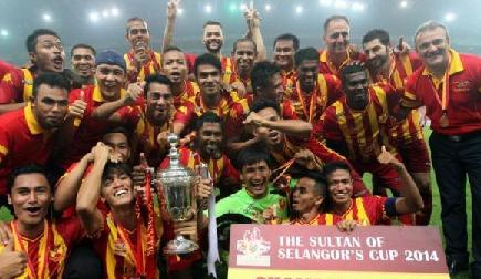 Bolasepak Piala Sultan Selangor 2014