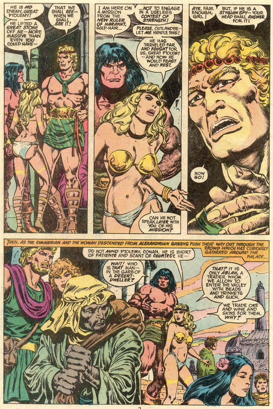 Conan the Barbarian (1970) Issue #80 #92 - English 3
