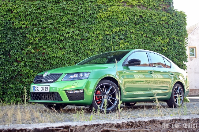 Skoda Octavia RS 2.0 TDI Green Tec (184 PS)