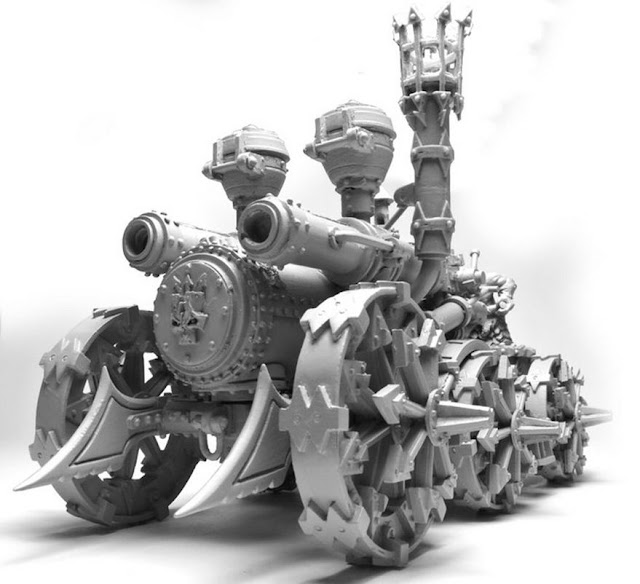 Dwarves of Chaos Tank or Mobile Cannon