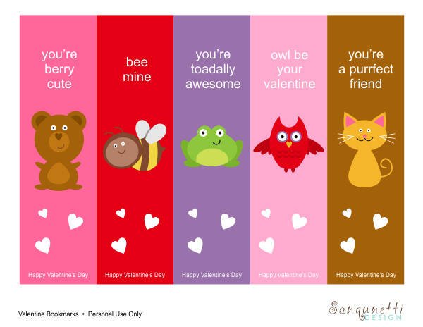 It's just a picture of Sly Printable Valentine Bookmarks
