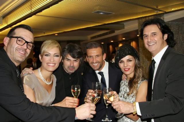 Diego Sandoval y famosos en la inauguración de Casino Gran Madrid. Blog Esteban Capdevila