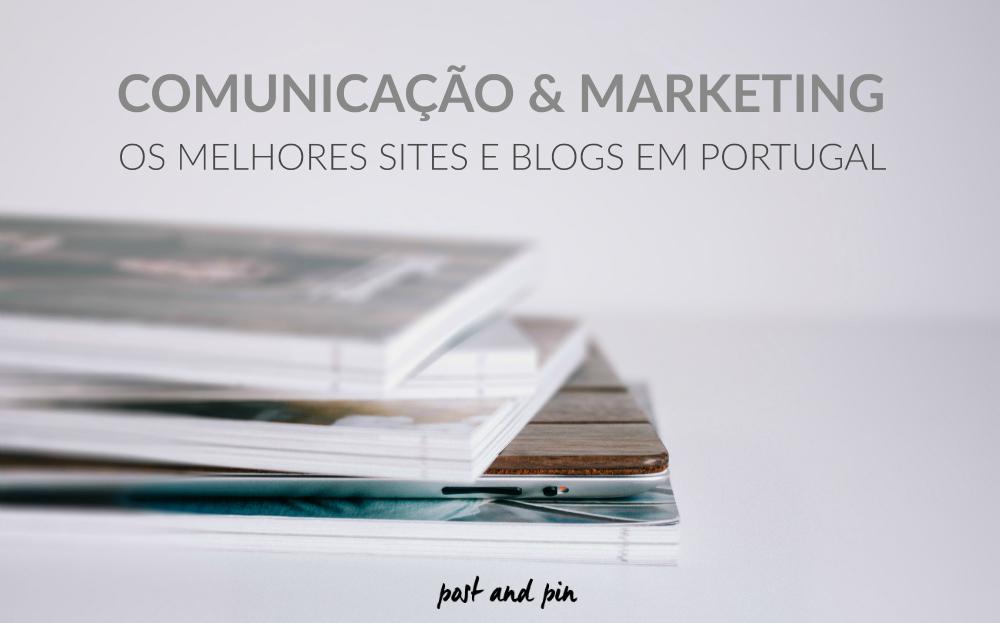 Blogs e sites sobre Comunicação e Marketing em Portugal