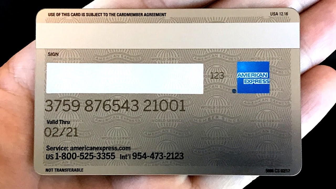 American Express Mileage Card