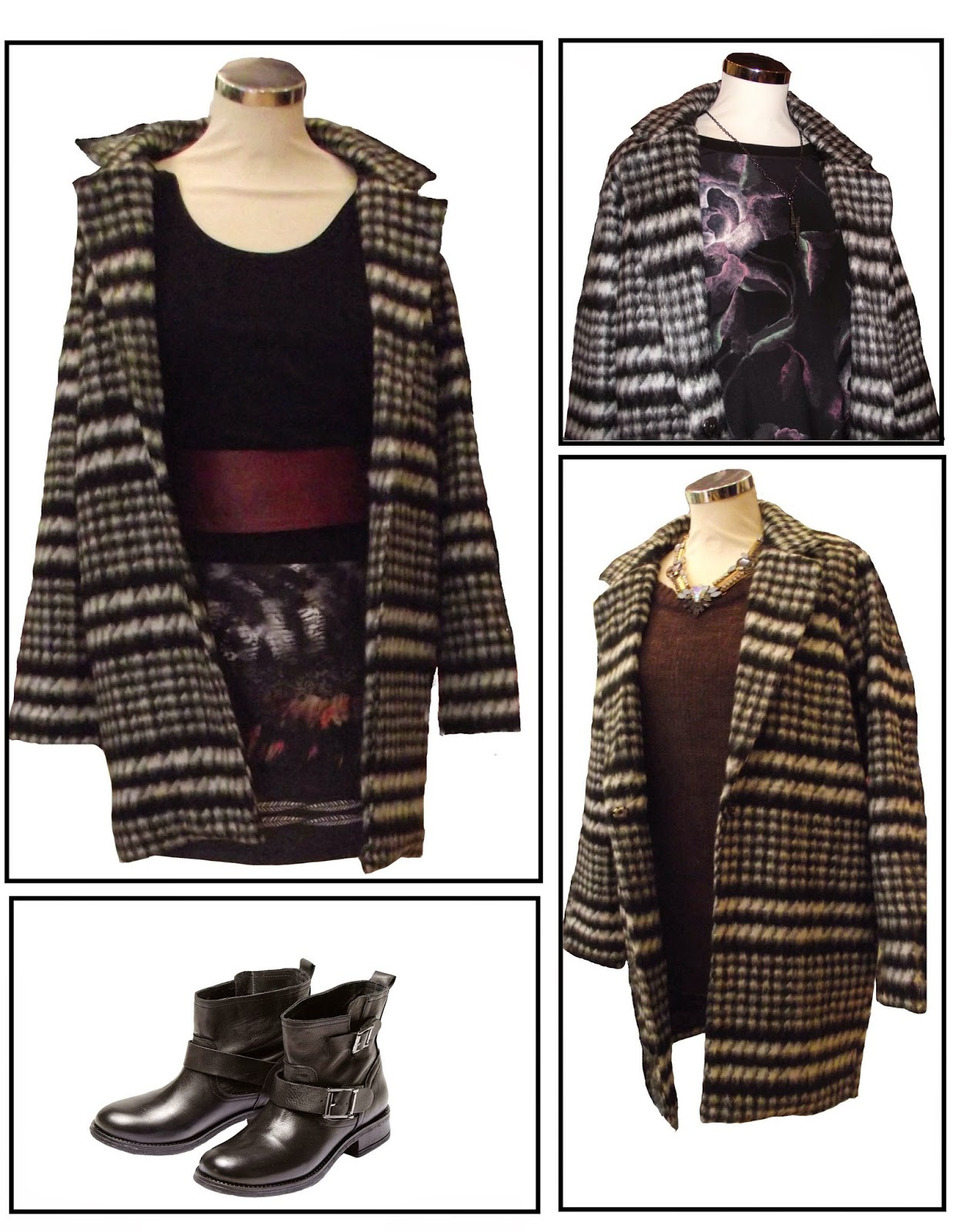 Style 2 - looks for B young monochrome coat
