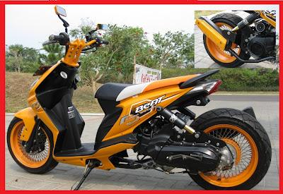 Honda Beat_Racing-Kumpulan Gambar Modifikasi Motor