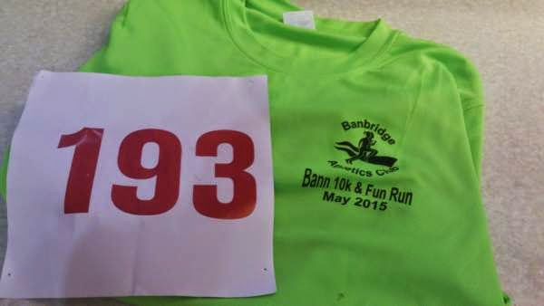 Banbridge Bann 10K Race T Shirt
