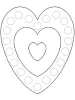 Desenhos para colorir de dia dos namorados parte 1