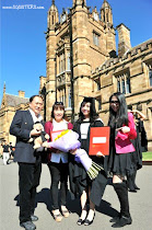 Lora Christelle Lim's Graduation Ceremony at University of Sydney
