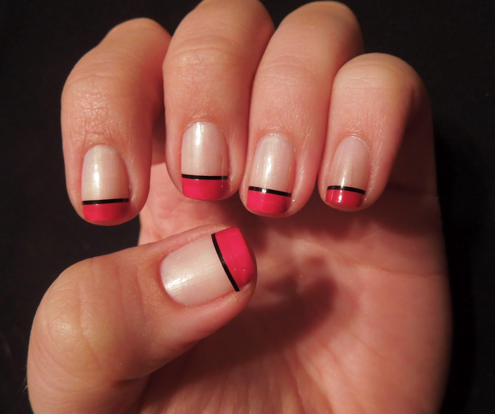 какой цвет сочетается с красным ногти фото