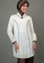 Model Pakaian Blus Muslim Formal